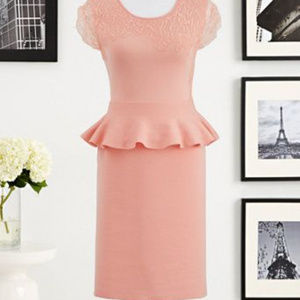 NY&CO Eva Mendes Collection - Aubrey Peplum Dress